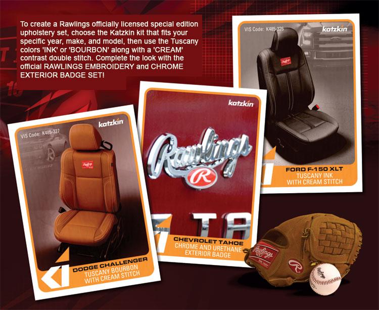 Katzkin Rawlings Colors Autoseatskins Com