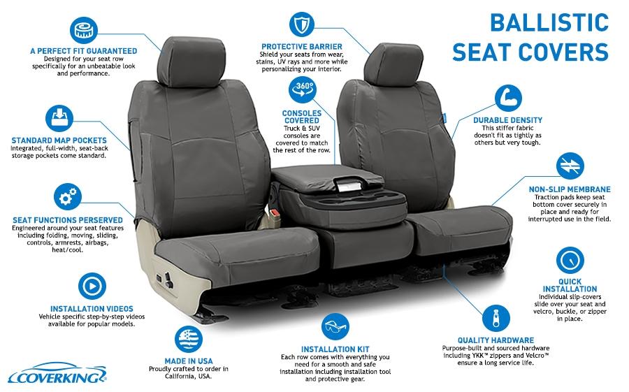 Ballistic Tactical Seat Cover Autoseatskins Com