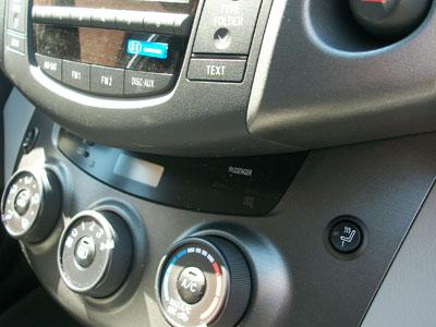The Ram Tacoma >> Katzkin Installation Photos - Heated Seat Button Placement