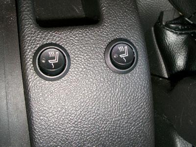 Katzkin Installation Photos Heated Seat Button Placement