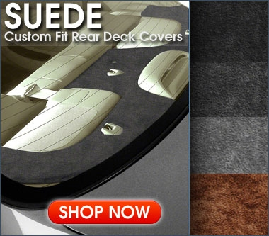 Suede Rear Deck Cover
