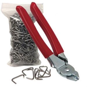 Auto Upholstery Hog Rings And Pliers Set Autoseatskins Com