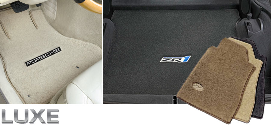 Luxe Plush Automobile Mats