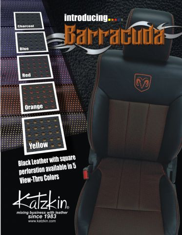 Katzkin Barracuda Perforation