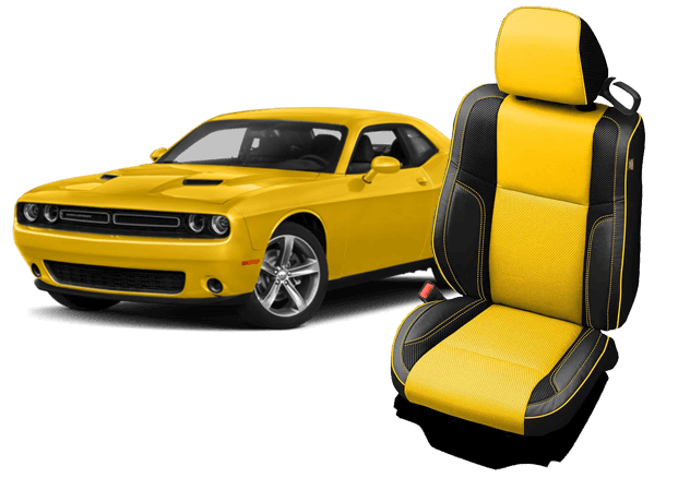Dodge Challenger Leather Seat Kit by Katzkin