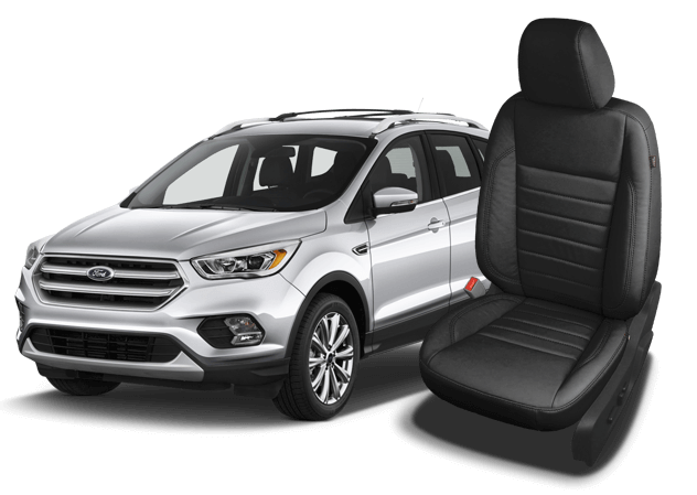 Reupholster your Ford Escape seats with Katzkin Leather