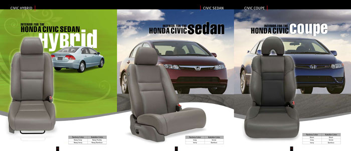Honda Civic Katzkin Leather