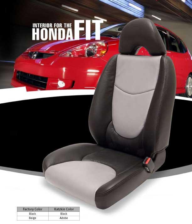 Honda Fit Katzkin Leather