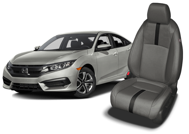 Reupholster your Honda Civic with Katzkin Leather