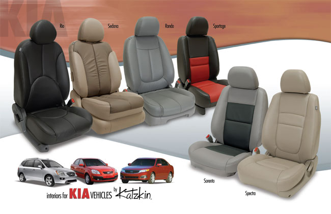 Kia Optima Base Hybrid Katzkin Leather Seats 2012 2013 2014 2015 With Arch Insert Listing