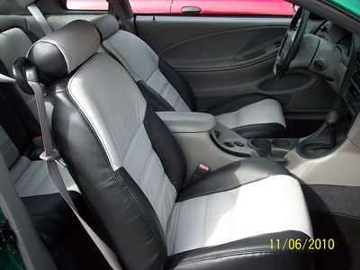 Ford Mustang Katzkin Leather