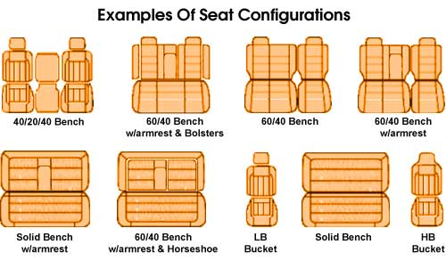 Sample Seat Configurations