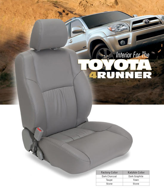 Toyota 4Runner Katzkin Leather Seat Kit