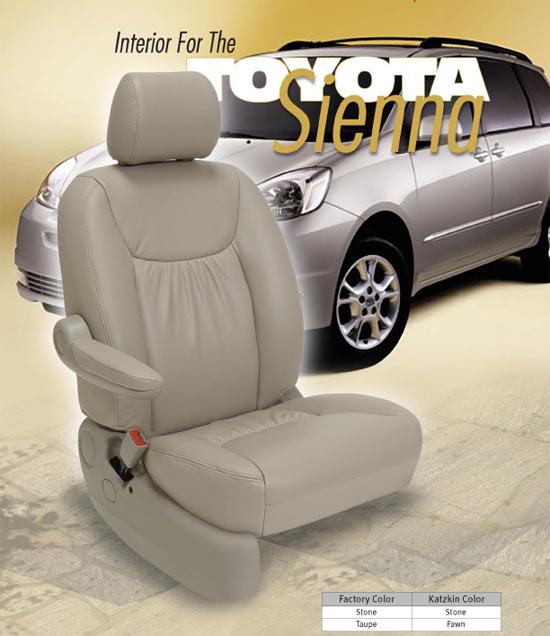 Toyota Sienna Katzkin Seat Leather
