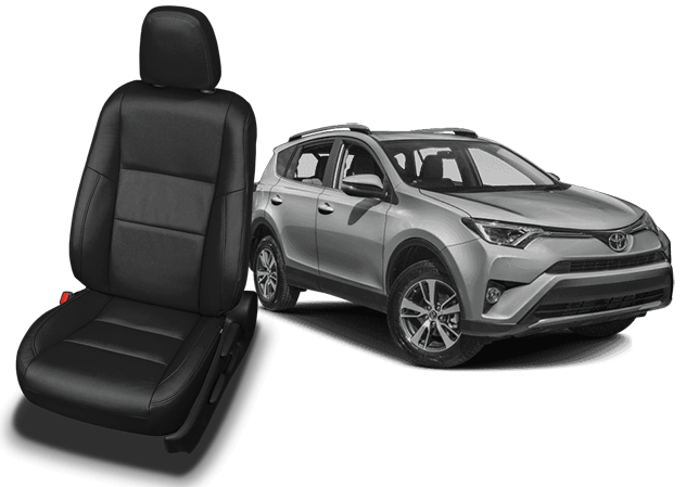 Reupholster your Toyota Rav4 with Katzkin Leather