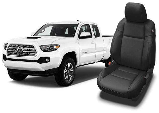 Reupholster your Toyota Tacoma with Katzkin Leather