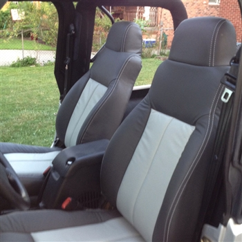 Jeep Wrangler Katzkin Leather Seats 2003 2004 2005