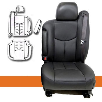 Chevrolet Tahoe Katzkin Leather Seats 2 Passenger Front