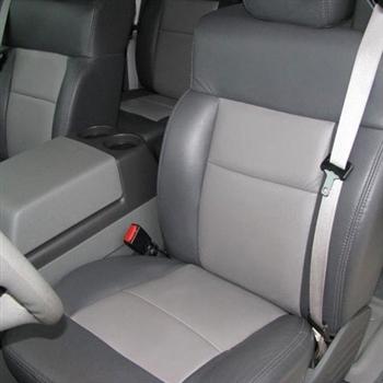 Ford F150 Crew Cab Xlt Katzkin Leather Seats 2005 Autoseatskins Com