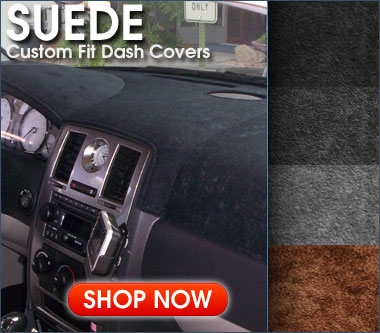 Coverking Custom Fit Dashboard Cover for Select GMC Yukon Denali Suede Black