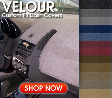 Coverking Velour Front Dash Cover for Chevy Sonic