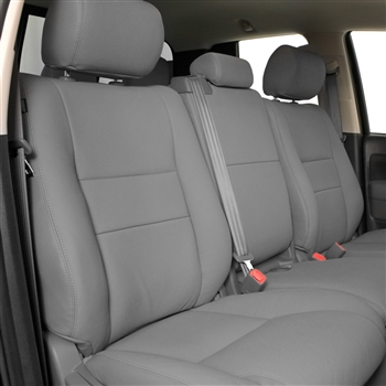Toyota Tundra Seat Covers >> 2007 2013 Toyota Tundra Crewmax Katzkin Leather Interior 3 Passenger Front Seat Electric Driver Without Fold Flat Passenger 2 Row