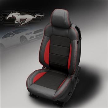ford mustang coupe  gt eco katzkin leather seats