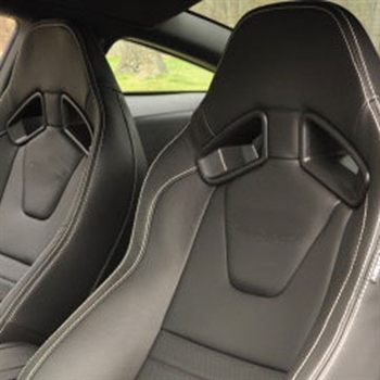 ford mustang coupe gt recaro katzkin leather seats