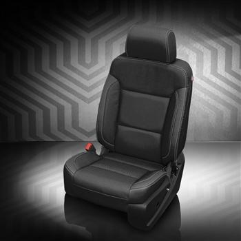 Chevrolet Silverado Crew Cab Katzkin Leather Seats 2016