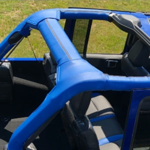 Jeep Wrangler 4 door (JL Body) Katzkin Roll Bar Cover ...
