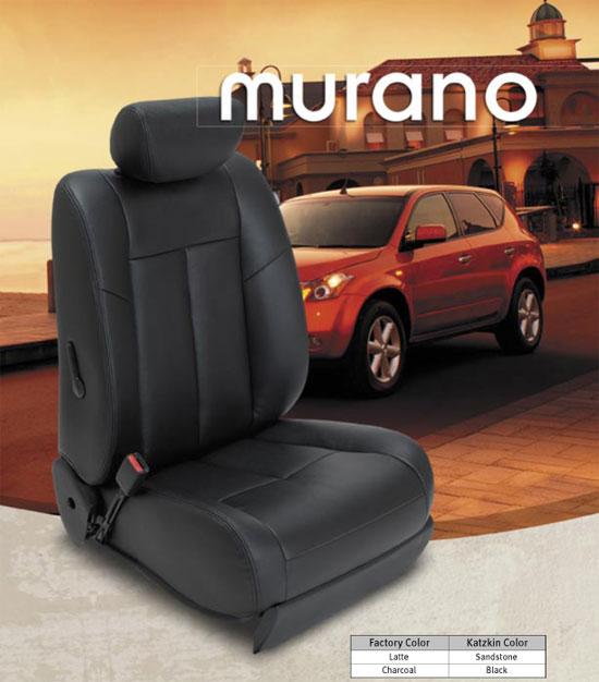 Nissan Murano Katzkin Leather Upholstery